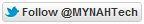 Follow MYNAH Tech button